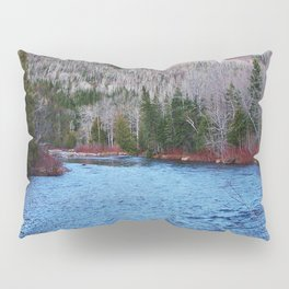 River in Nature Pillow Sham