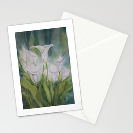Calla Lilies Dream Stationery Cards