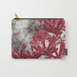 Red Kangaroo Paw Carry-All Pouch