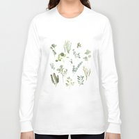 plants Long Sleeve T-shirts featuring Plants  by Maggie Chiang