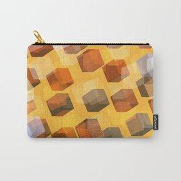 transparent cubes Carry-All Pouch