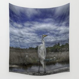 Great Egret Wall Tapestry