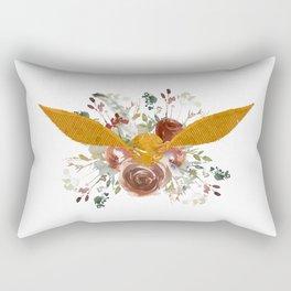 Golden Snitch Rectangular Pillow