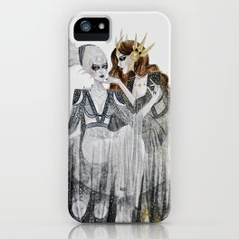 The Moon and the Sun iPhone Case