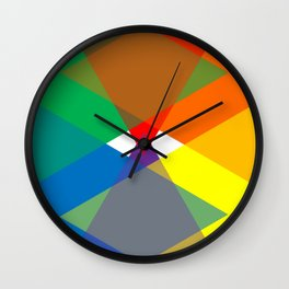 Rainbox Wall Clock