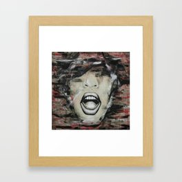 YELL Framed Art Print