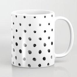 Dottie - black on white Coffee Mug