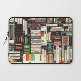 Cassettes, VHS & Games Laptop Sleeve