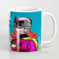 batgirl Mugs featuring Batgirl by Ed Pires