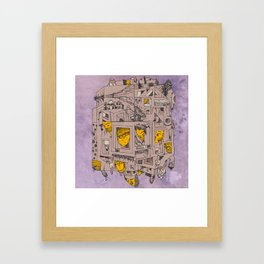 dream home #2 Framed Art Print