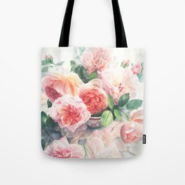 Gorgeous Red Rose Bouquet Tote Bag