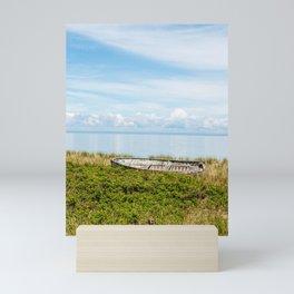 Blue Sky Day Mini Art Print