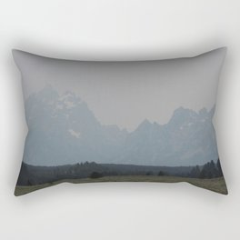 Rocky Mountains Rectangular Pillow