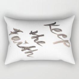 141116 Typography 11 Rectangular Pillow