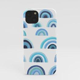 BLUE MONDAY iPhone Case
