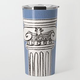 Greek ionic column Travel Mug