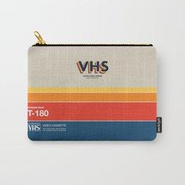 VHS Videotape Case | Retro Cassette Carry-All Pouch