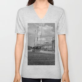 Union Station, No. 2 Unisex V-Neck