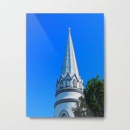 Church Steeple Statues Metal Print