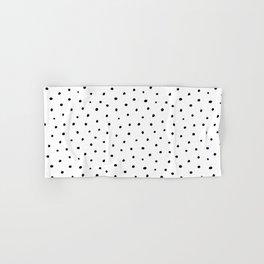Polka Dots in Love Hand & Bath Towel