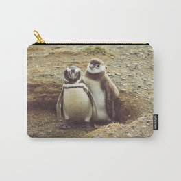 Penguin with chick Carry-All Pouch