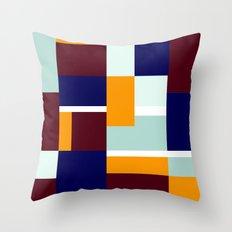 Odd symmetry Throw Pillow