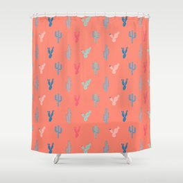 Cool cactus Shower Curtain