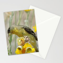 Feasting Finch Stationery Cards
