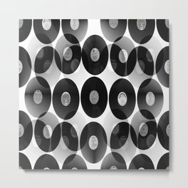 Something Nostalgic II - Black And White #decor #buyart #society6 Metal Print