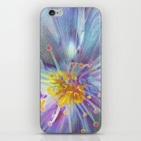 blossom iPhone & iPod Skins featuring Blossom by Klara Acel