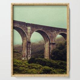 SCOTLAND / Glenfinnan (Viaduct), Highlands / 01 Serving Tray