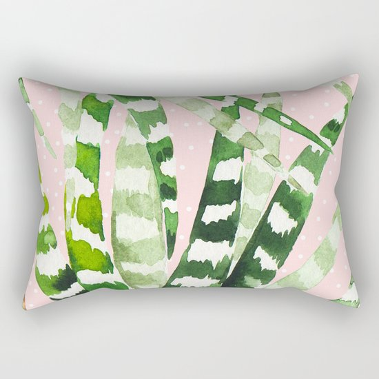 CACTUS WATERCOLOR 02 Rectangular Pillow