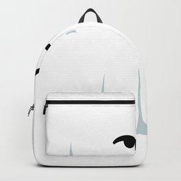 ghost smirk Backpack