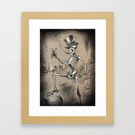Mr Lucky Framed Art Print