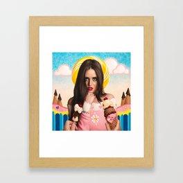Naughty or Nice? Framed Art Print