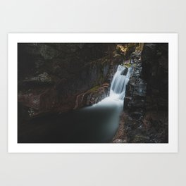 Sabbaday Falls - New Hampshire, USA Art Print