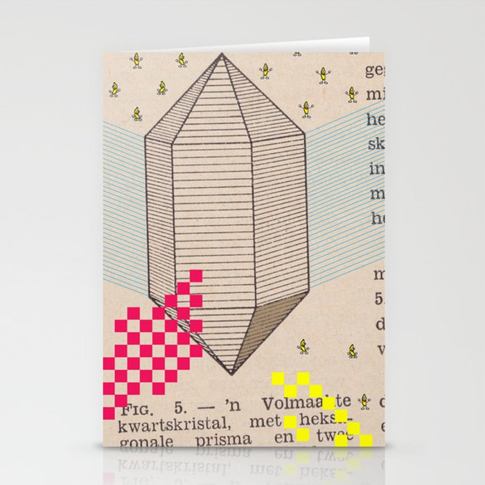 Fig 5. Primary Prism Banana Stationery Cards