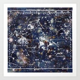 Celestial Charts Art Print