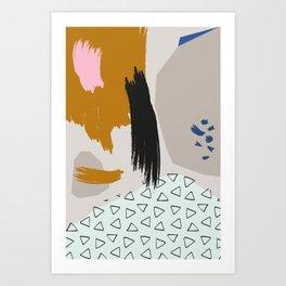 Dash Clash! Art Print