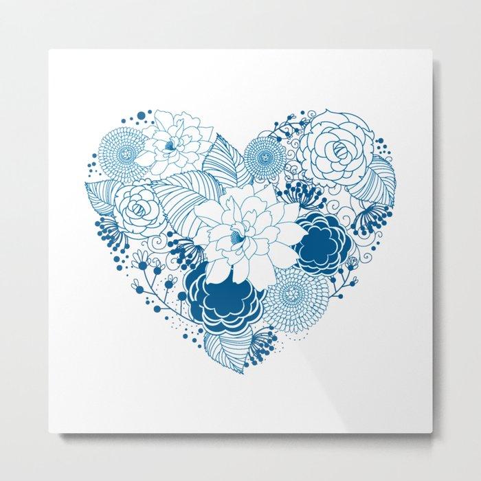 Color my heart Metal Print