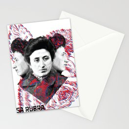 Rosa Rubra 3D Stationery Cards