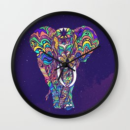 Not a circus elephant Wall Clock