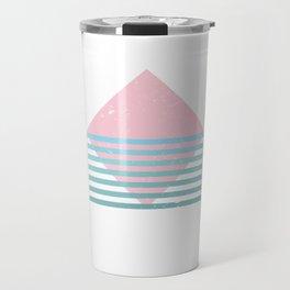 80s Ocean Mountain Travel Mug