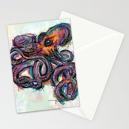 Octo Lines Stationery Cards
