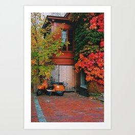 Portland Way of Life. Art Print