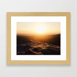 Magazine Sunset Framed Art Print