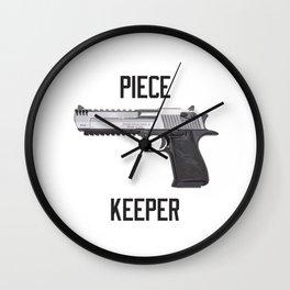 Desert Eagle Piece Keeper Wall Clock