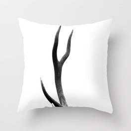 Antler Throw Pillow