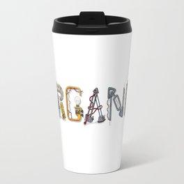 MACHINE LETTERS - ORGANIC Travel Mug