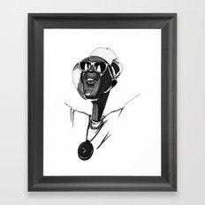 Flava Flav Public Enemy Framed Art Print